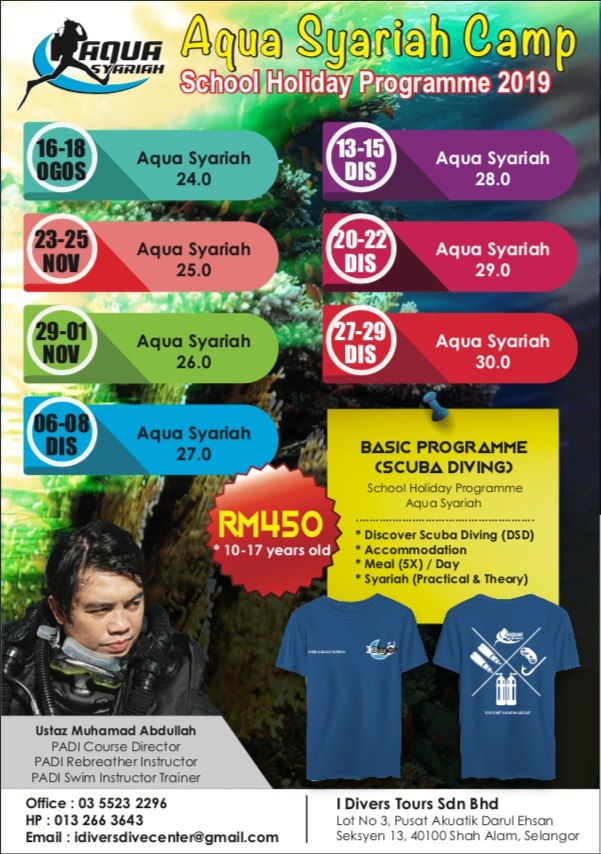 Scuba Diving - Aqua Syariah Kem 2019
